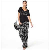 Ladies Designer Print Pant