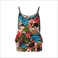 Ladies Tropical Print Tops