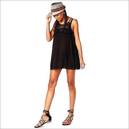 Ladies Black Top