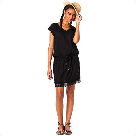 Ladies Black Tunic Dress