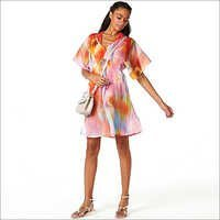 Ladies Designer Print Tunic Dress