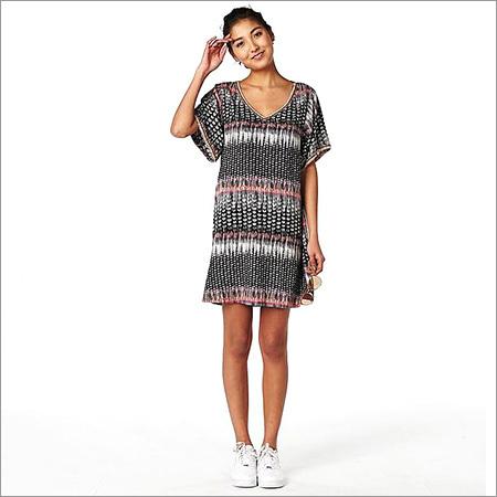 Ladies Printed Tunic Dress