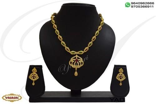 Fancy designer necklace