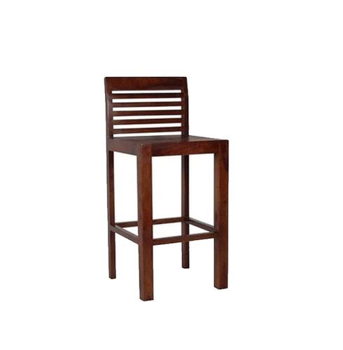 LifeEstyle Viesly Bar Chair (Teak Finish)
