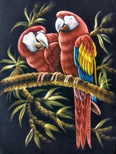 Parrot Bird Painting