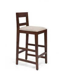 LifeEstyle Jack Bar Stool (Teak Finish)