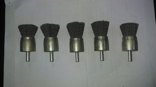 Abrasive Nylon End Brush