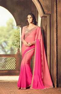 Embroidery Georgette Saree