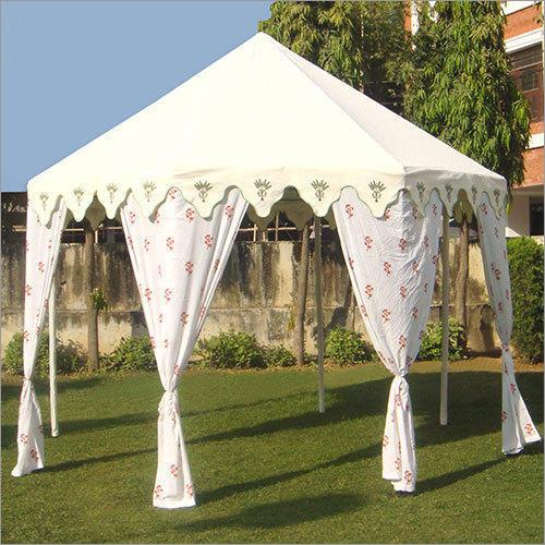 Camp Tents and Umbrellas