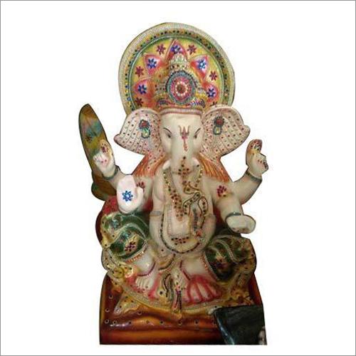 Fiber Ganesh Ji Statue