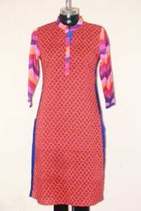 Multi Clour Cotton Kurti