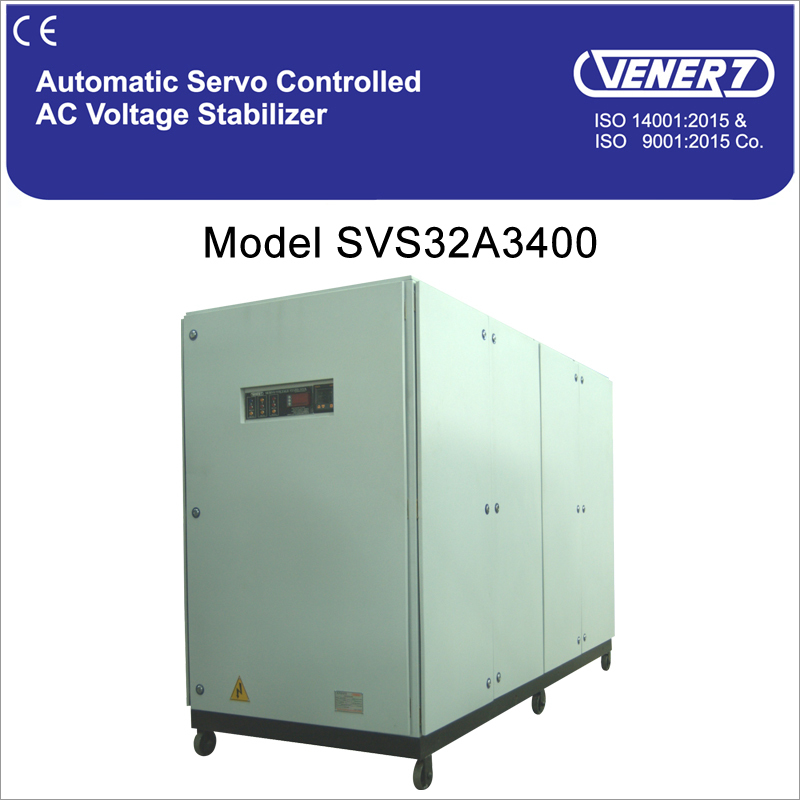 400 kVA Air Automatic Servo Controlled Air Cooled Voltage Stabilizer