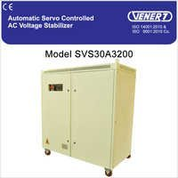 200kVA Automatic Servo Controlled Air Cooled Voltage Stabilizer