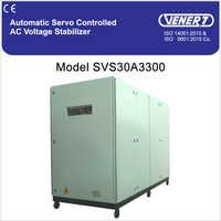 300kVA Automatic Servo Controlled Air Cooled Voltage Stabilizer