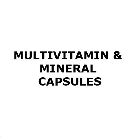 Multivitamin & Mineral Capsules