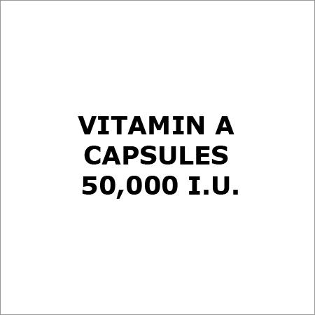 Vitamin A Capsules 50,000 I.U.