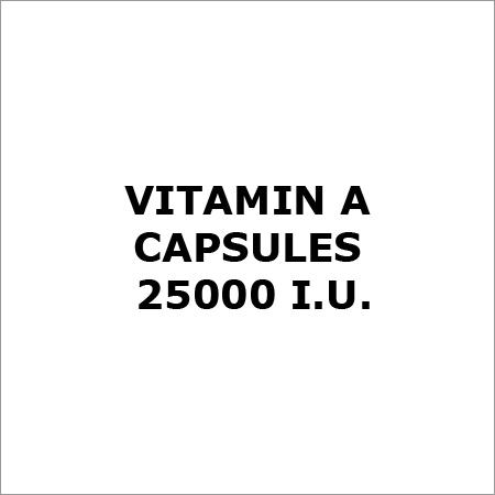 Vitamin A Capsules 25000 I.U.