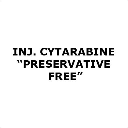 "Inj. Cytarabine ""Preservative Free"""