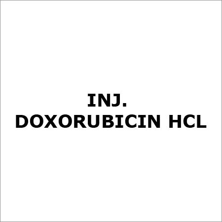 Inj. Doxorubicin HCL