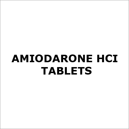 Amiodarone HCI Tablets