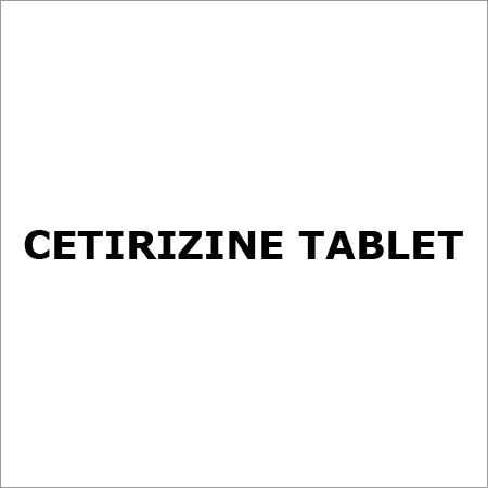 Cetirizine tablet
