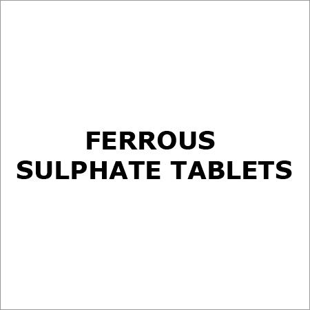 Ferrous Sulphate Tablets