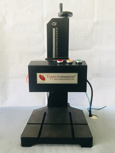 Monitor Nameplate Marking Machine