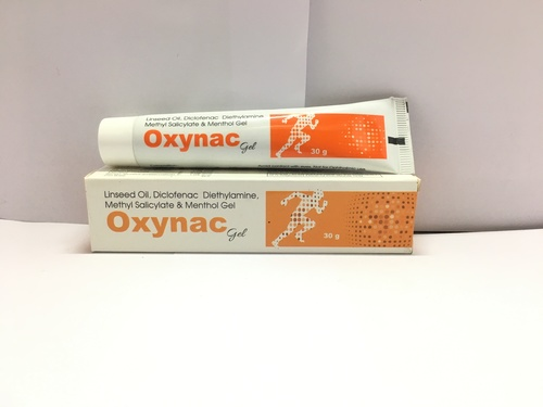 Oxynac Gel (Diclofenac Pain Relieving gel)