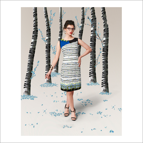 Royal Crepe Digital Printed Kurtis