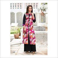 Ladies Slit Cut Designer Kurtis