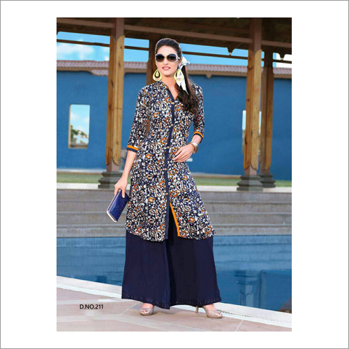 Ladies Slit Cut Fancy Kurti