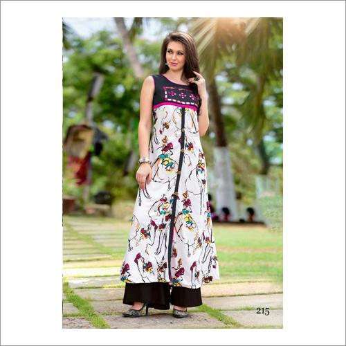 Ladies Linen Cotton Kurti
