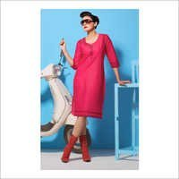 Ladies Cotton Printed Kurtis