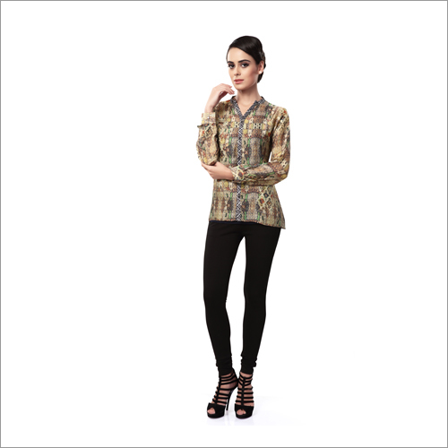 Ladies Designer Print Shirts