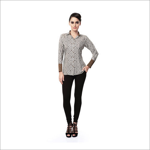 Ladies Digiital Print Shirts