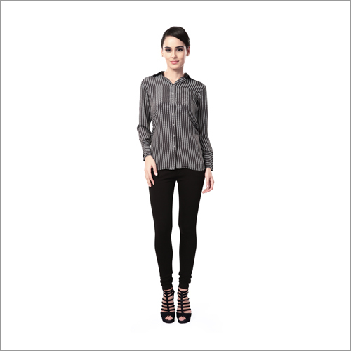 Ladies Striped Designer Shirts