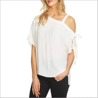 Ladies Ladies One Shoulder Off Western Top