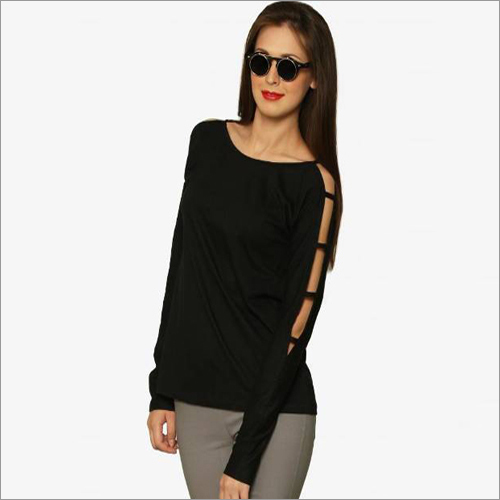 Ladies Cold Shoulder Western Top