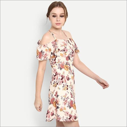 Ladies Poly Cotton Rayon Dresses