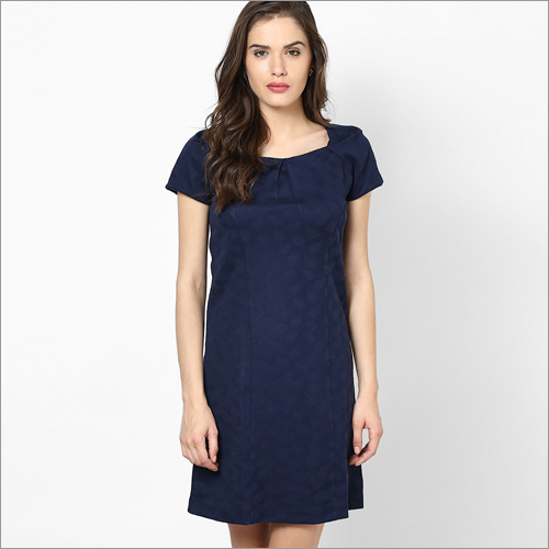 Ladies Poly Cotton Western Dress