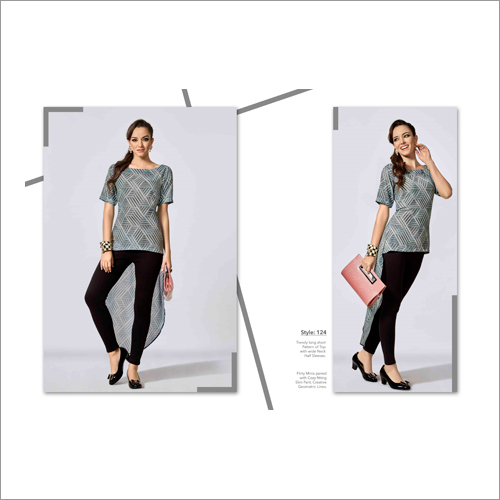 Ladies Asymmetric Top