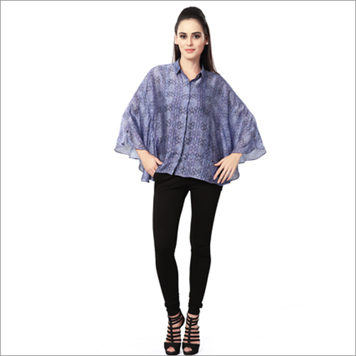 Ladies Kaftan Printed Top