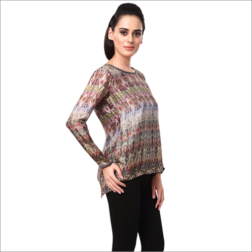 Ladies Full Sleeve Designer Tops