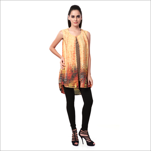 Ladies Printed Western Kurtis