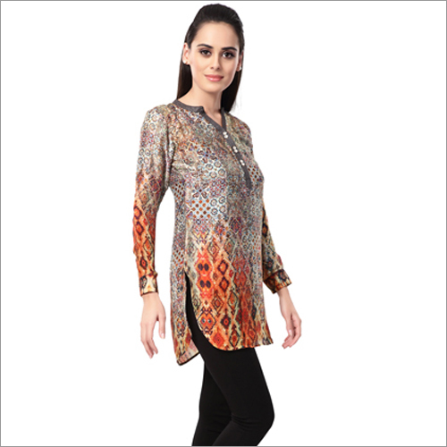 Ladies Collar Kurtis
