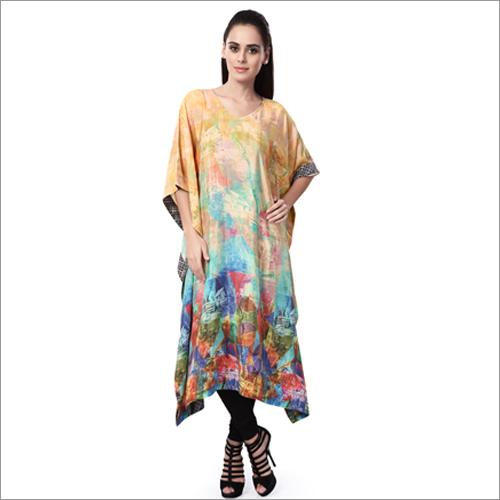 Ladies Kaftan Style Printed Western Kurtis