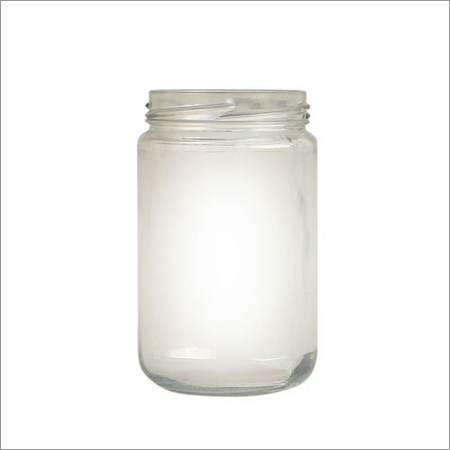 Fancy Glass Jar