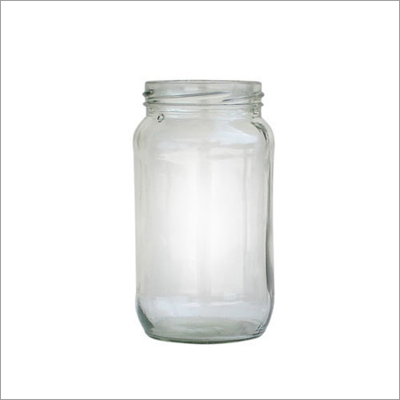 Plain  Glass Jar