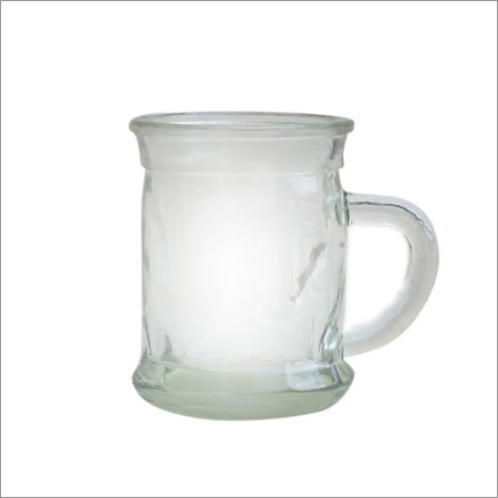 Handle Glass Jar