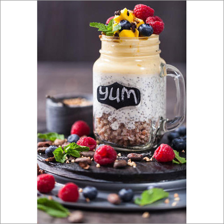 Frost Glass Jar